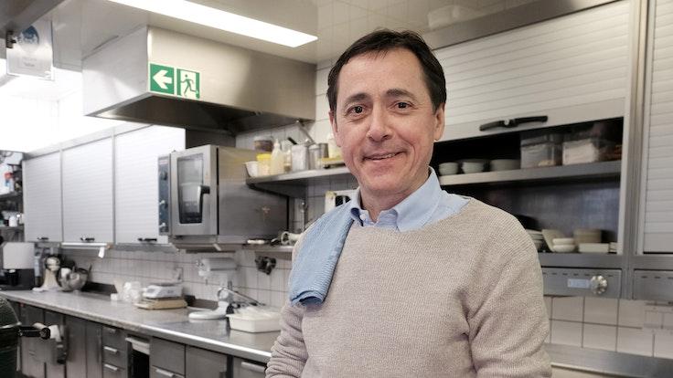 Kölner Gastronom Vincent Moissonnier im Restaurant Le Moissonnier