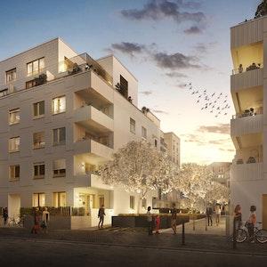 Das Wohnviertel Viva Agrippina bietet Ein-Zimmer-Appartments, Zwei-bis-Sechs-Zimmer-Wohnungen sowie Penthäuser.