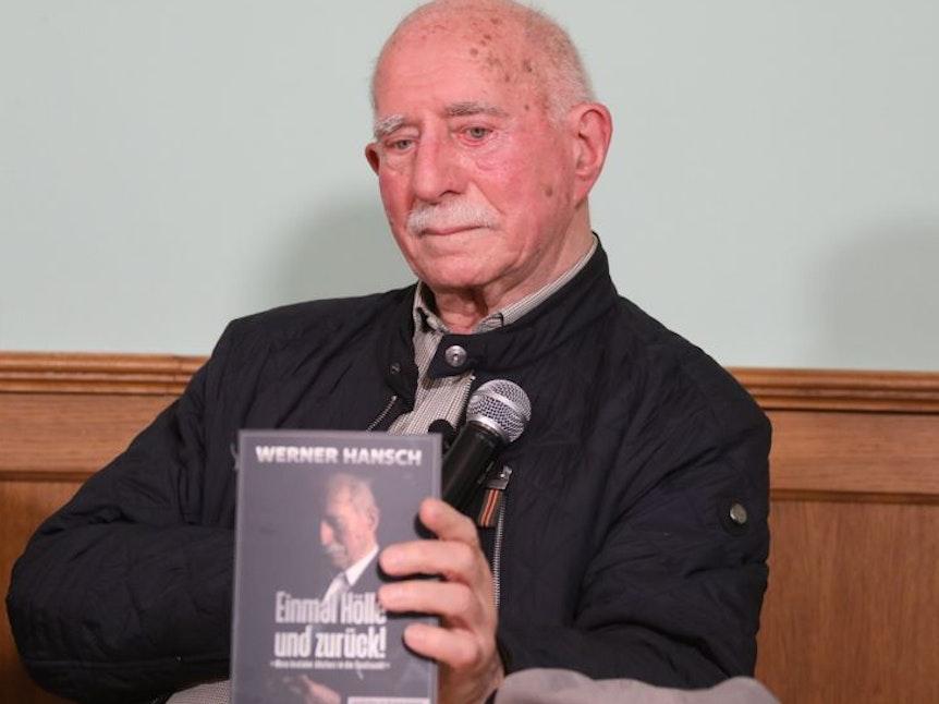 Werner Hansch stellte im September sein neues Buch vor und weinte.