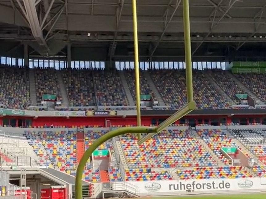 Fortuna Düsseldorf produzierte ein TikTok-Video im Stadion.