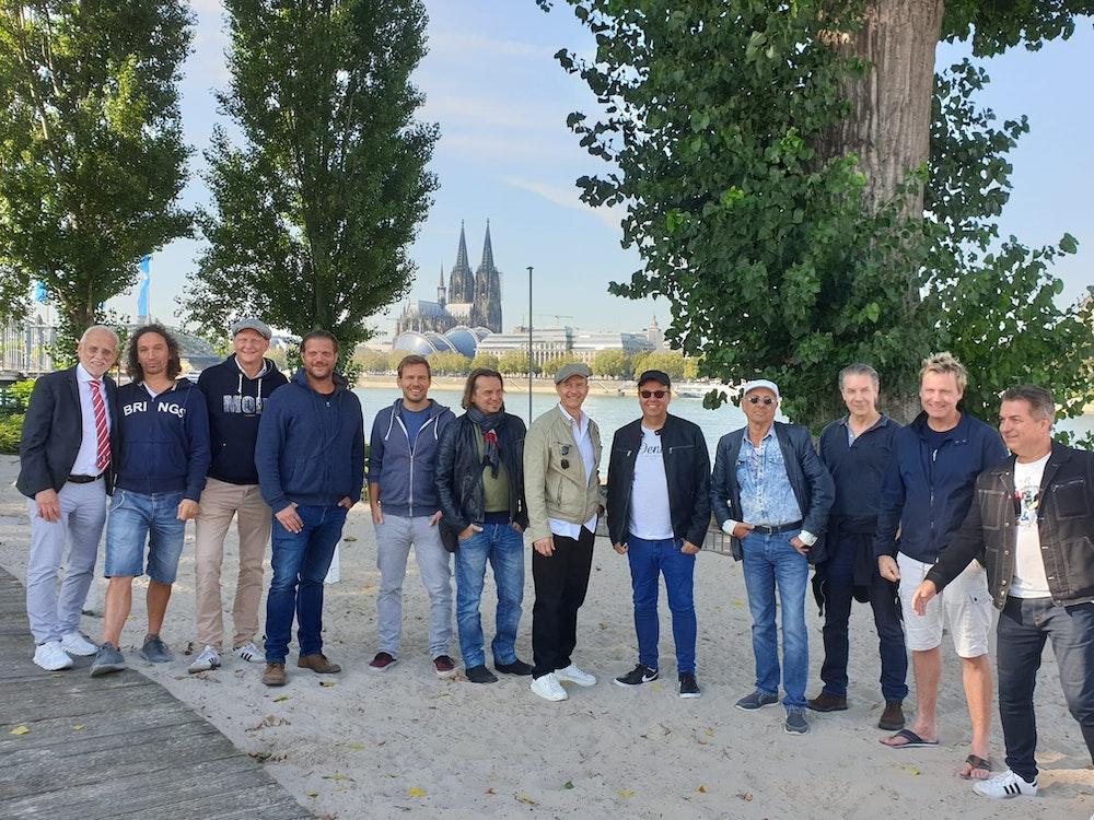 """Tanzbrunnen: Die kölschen Top-Bands stehen schon bereit für """"Der Große Kölsche Countdown"""" am 11.11.2021."""