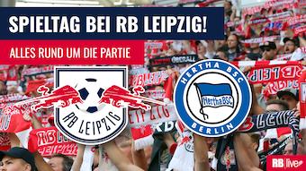 RB Leipzig empfängt Hertha BSC Berlin.