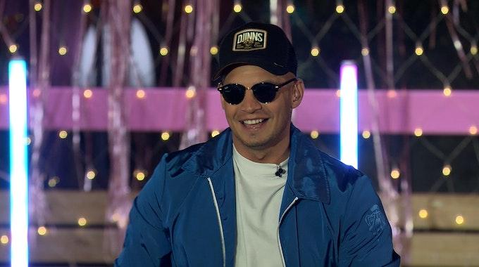 "Musiker Pietro Lombardi zu Gast in der 100. Folge ""Love Island"" am 17.03.2021."