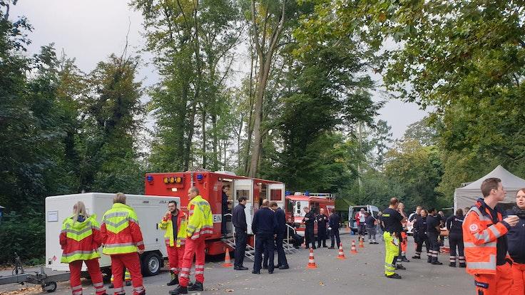 Köln: Bombenentschärfung Köln-Lindenthal