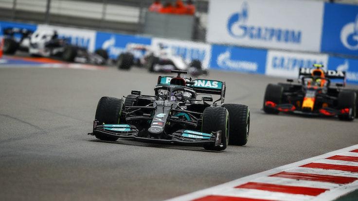 Mercedes-Pilot Lewis Hamilton