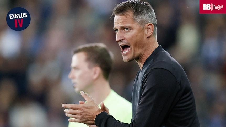 """""""Ich freue mich riesig auf die Partien und bin selbst gespannt, was sie gegen Leipzig leisten"""": Alexander Blessin."""