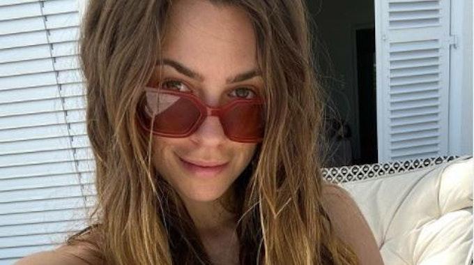 Vanessa Mai zeigt sich auf einem Instagram-Selfie vom 15. Juni 2021 ungeschminkt