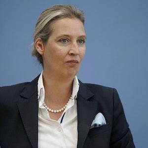 Alice Weidel (hier im September 2021 in Berlin), ob sie ihren Tweet gegen Karl Lauterbach inzwischen bereut?