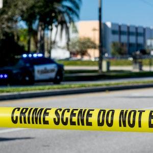 Die Polizei fahndete tagelang nach dem Verdächtigen, bis er tot aufgefunden wurde (hier ein anderer Polizeieinsatz in Florida von 2018).