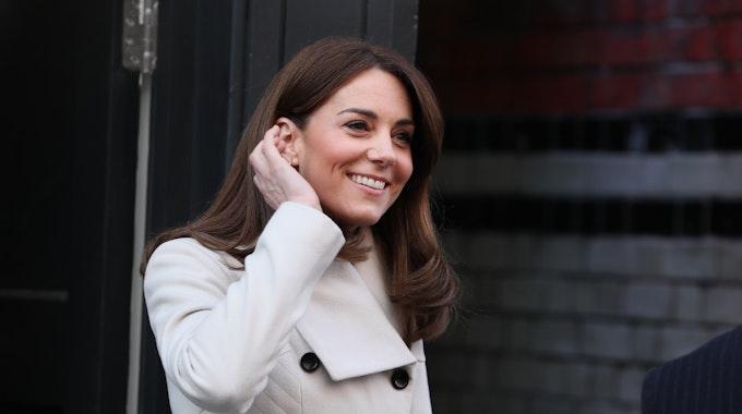 Kate, Herzogin von Cambridge im März 2020 bei einem Besuch in Irland. Die Herzogin ist am Dienstag, 28. September, bei der Weltpremiere des neuen James-Bond-Film erschienen.