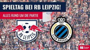 RB Leipzig gegen FC Brügge in der Champions League.