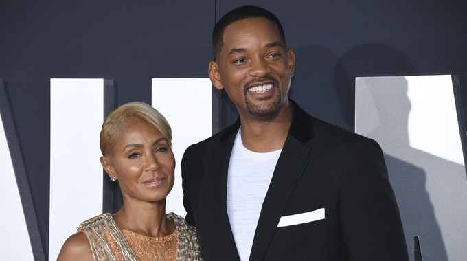 Will Smith mit Ehefrau Jada Pinkett bei einer Filmpremiere 2019.