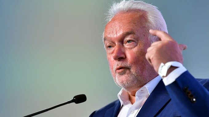 Wolfgang Kubicki, stellvertretender Bundesvorsitzender der FDP, im Juni beim Landesparteitag der Thüringer FDP: Er meint, dass Laschet die Woche vermutlich nicht überstehen wird.