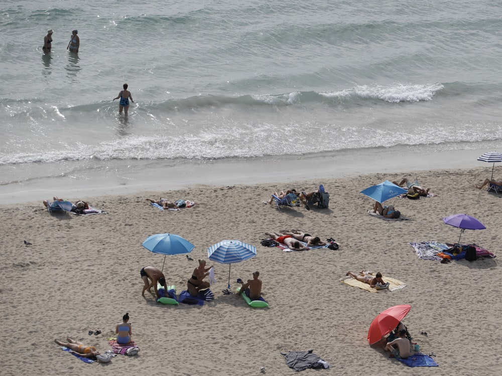 A body was discovered in the sea off Palma de Mallorca (here is an archive photo).