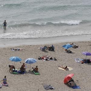 Im Meer vor Palma de Mallorca (hier ein Archivfoto) ist eine Leiche entdeckt worden.
