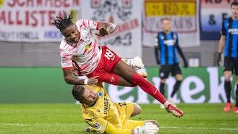 """""""Club Brügge spielte wie RB Leipzig"""": Das schreibt die internationale Presse über RB Leipzigs Niederlage gegen Brügge."""