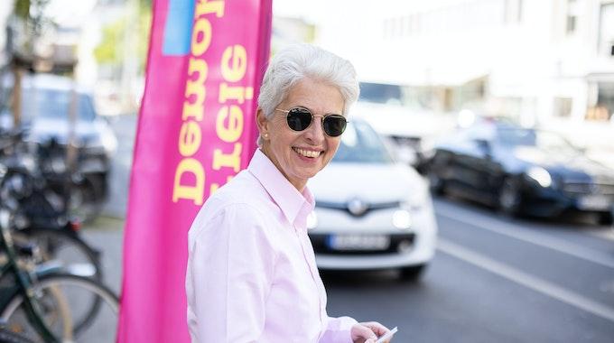 Marie-Agnes Strack-Zimmermann (FDP, hier im Sommer 2020 in Düsseldorf) attackierte die CSU kurz vor den Sondierungsgesprächen frontal.