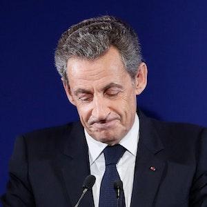 Das Archivfoto zeigt den ehemaligen französischen Staatspräsidenten Nicolas Sarkozy am 20. November 2016.