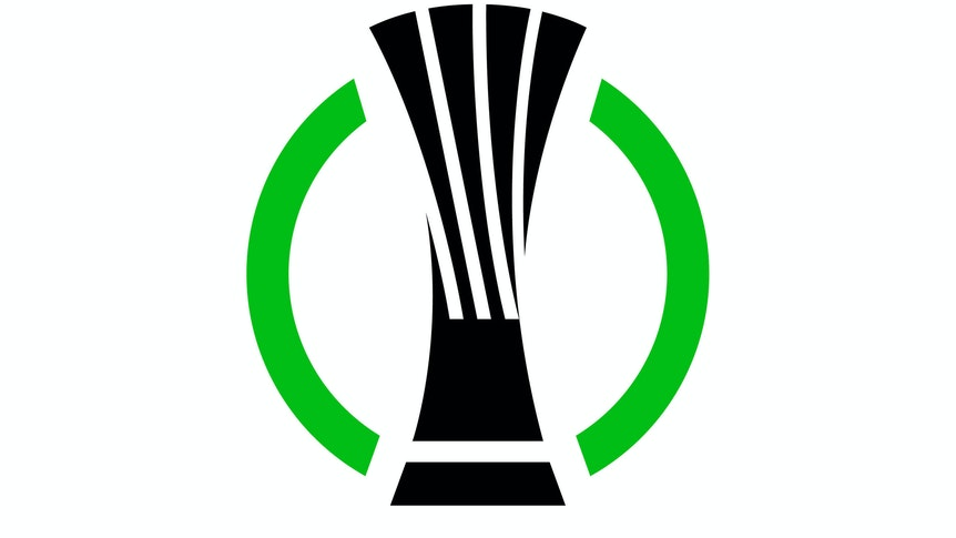 offizielles Logo der UEFA Europa Conference League EDITORIAL USE ONLY *** official logo of the UEFA Europa Conference League EDITORIAL USE ONLY