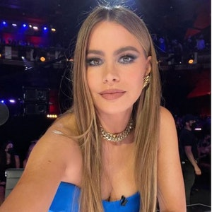 Die Schauspielerin Sofia Vergara auf einem Selfie, hochgeladen am 25. August auf Instagram.