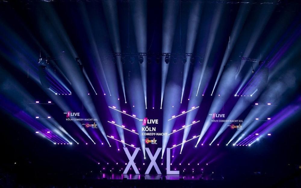 Die 1Live Comedy Nacht XXL in der Lanxess-Arena