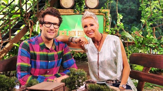 Die RTL-Dschungelcamp-Moderatoren Sonja Zietlow und Daniel Hartwich 2019.