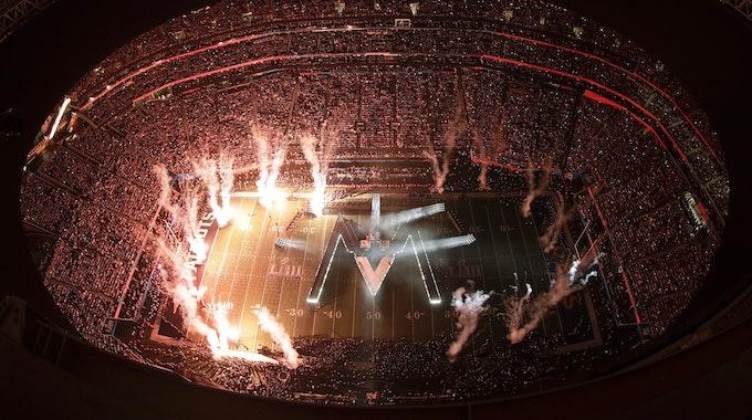 Die Halbzeit-Show des Super Bowls am 3. Februar 2019 in Atlanta.