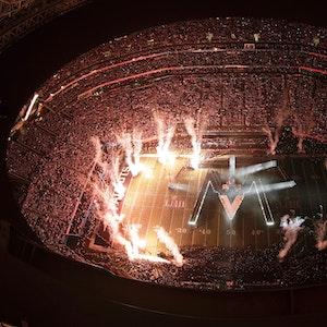 Die Halbzeit-Show beim 53. Super Bowl am 3. Februar 2019 in Atlanta.