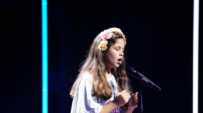 Die 10-jährige Elena Turcan aus Idar-Oberstein trat am Samstagabend (2. Oktober) beim Supertalent auf RTL auf.