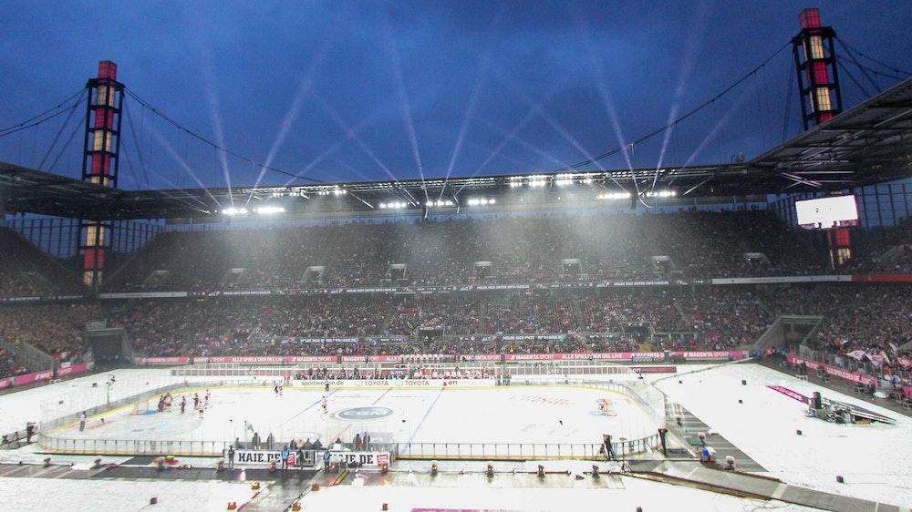 Winter Game 2019 zwischen den Kölner Haien und der Düsseldorfer EG.