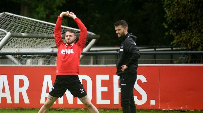 Janes Horn trainiert beim 1. FC Köln am Geißbockheim.