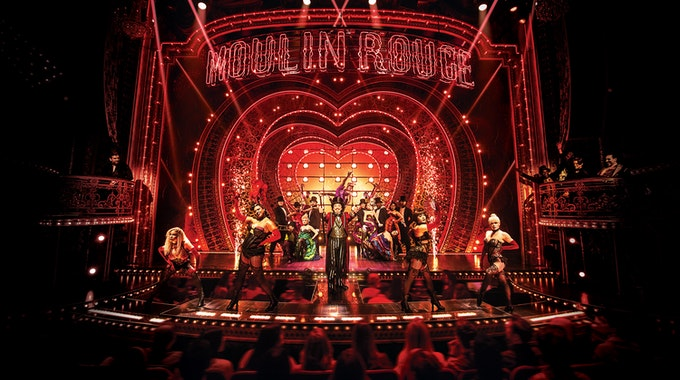 Eine Szene aus dem Musical Moulin Rouge