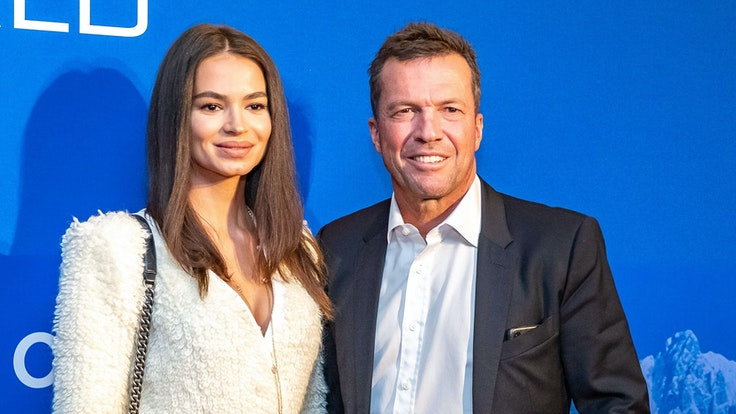 Lothar Matthäus und Ehefrau Anastasia