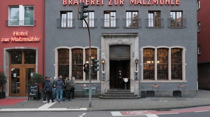 Köln: Die Brauerei zur Malzmühle am Heumarkt.