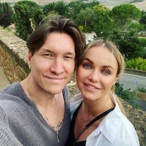 Evgeny Vinokurov (bekannt aus Lets Dance) und Nina Bezz auf einem Instagram-Foto vom 15.9.2021