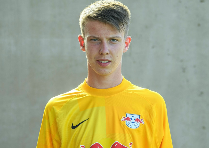 Torhütertalent bei RB Leipzig: Timo Schlieck.