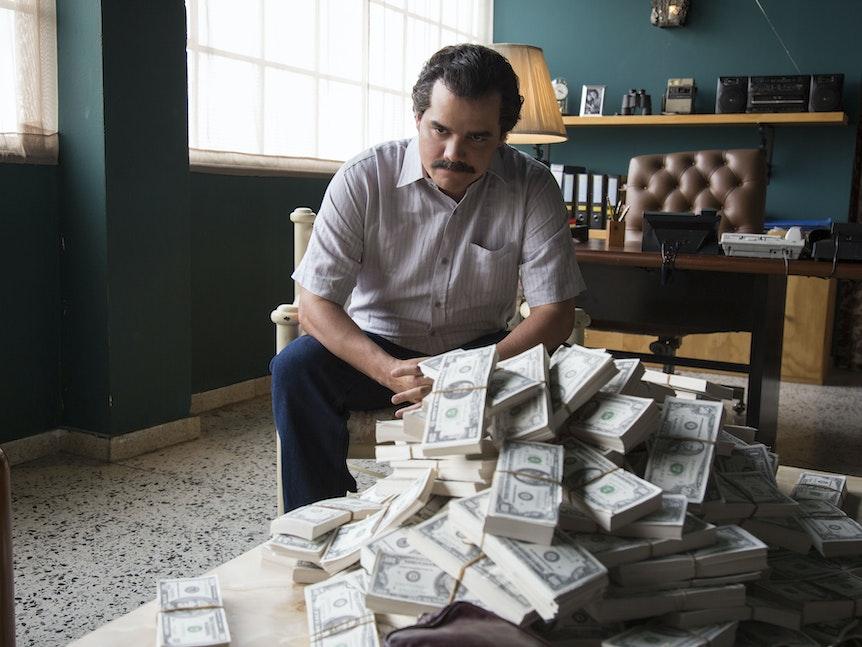 """Die Netflix-Serie """"Narcos"""" erweckt Drogenboss Escobar zum Leben."""