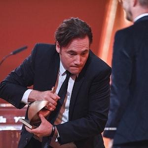 """Comedypreis 2021: Komiker Michael """"Bully"""" Herbig gehörte zu dem Gewinnern. Unser Foto wurde am 17. September 2021 bei der Verleihung der Goldenen Henne gemacht."""