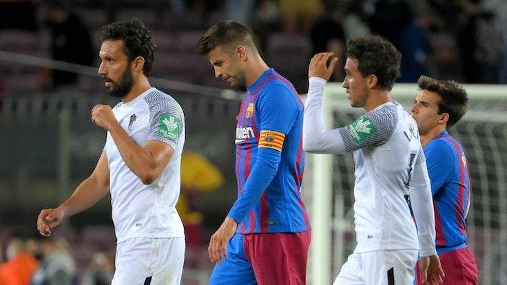 Gerard Pique ha lasciato l'FC Barcelona a testa china.