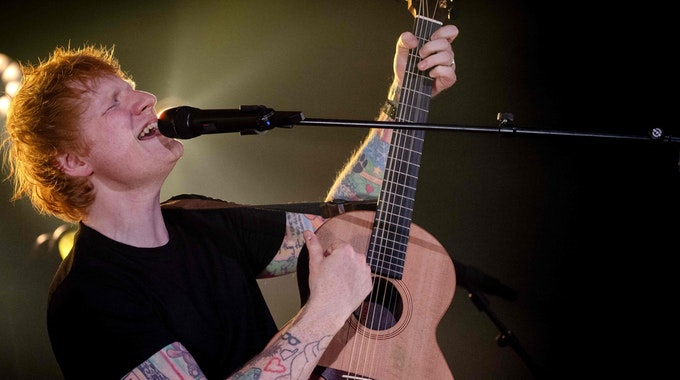 """Sänger Ed Sheeran wird als Experte ein Teil der neuen Staffel """"The Voice""""."""