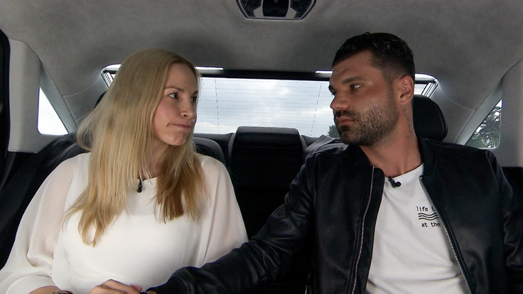 """Mike Cees-Monballijn und Michelle Monballijn in """"Das Sommerhaus der Stars"""" 2021"""