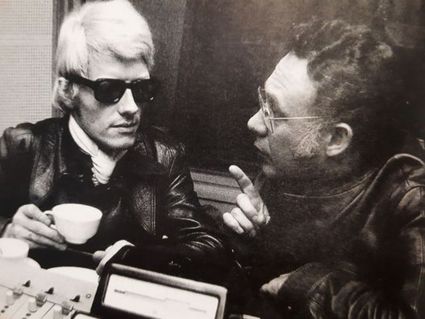 Heino und sein Produzent Ralph Bendix im Gespräch.