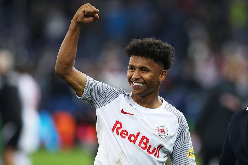 Soll im Winter schon bei den Bayern unterschreiben: Karim Adeyemi