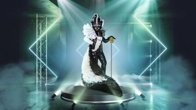 """Das Stinktier soll bei """"The Masked Singer"""" (staffel 5, ab 16. Oktober 2021) alle Sinne betören."""