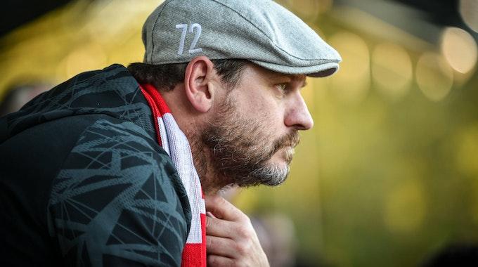 Steffen Baumgart trainiert den 1. FC Köln.