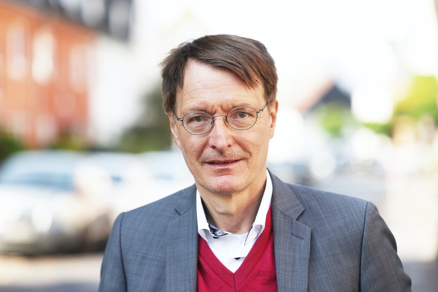 Karl Lauterbach, Gesundheitsexperte der SPD und Direktkandidat für Wahlkreis Köln