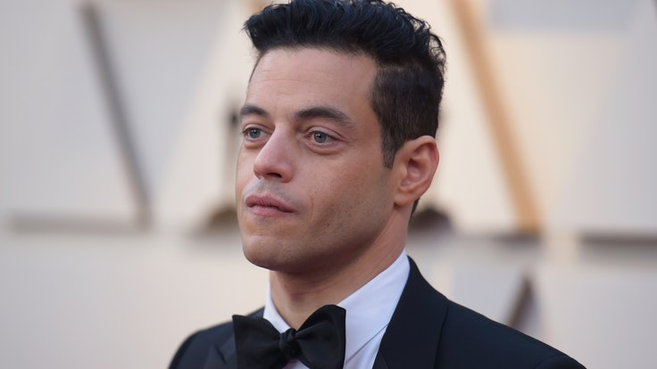 Actor Rami Malek attends the 91st Academy Awards, the 2019 Academy Awards, on the red carpet at the Dolby Theatre.