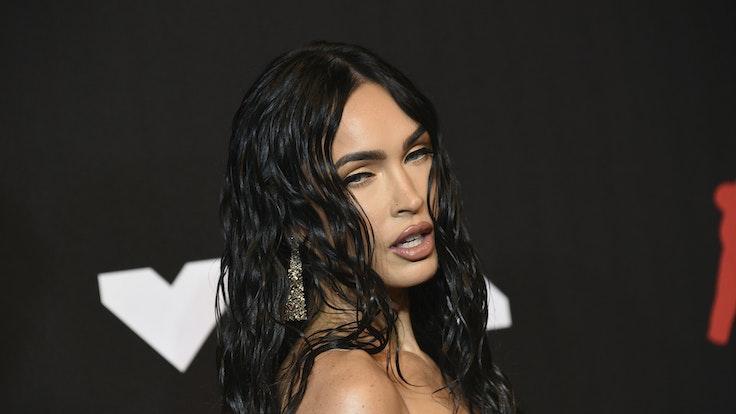 """Megan Fox erscheint im September 2021 bei den MTV """"Video Music Awards"""" im New Yorker Barclays Center."""