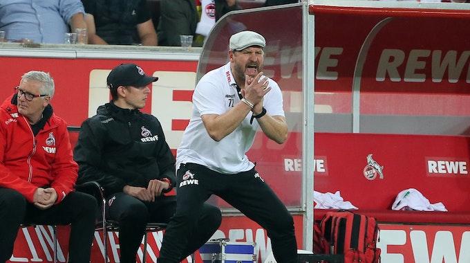 Steffen Baumgart trainiert den 1. FC Köln gegen die SpVgg Greuther Fürth.