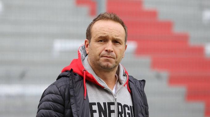 Dirk Lottner trainiert Energie Cottbus in der Regionalliga.